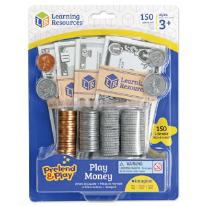 Learning Resources Pretend & Play Money