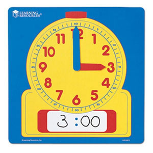Write & Wipe Demonstration Clock