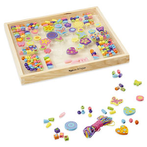 Melissa & Doug Deluxe Wooden Bead Set