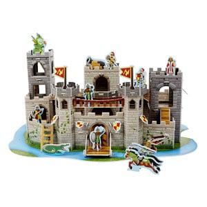 Melissa & Doug Medieval Castle 3-D Puzzle
