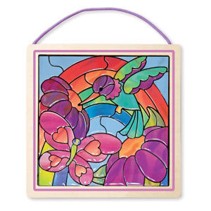 Melissa & Doug Stained Glass Art Kit