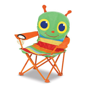 Melissa & Doug Sunny Patch Folding Lawn Chair