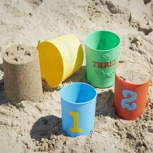 Melissa & Doug Sunny Patch Nesting Sand Pails