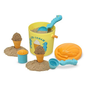Melissa & Doug Sunny Patch Speck Seahorse Sand Ice Cream Playset