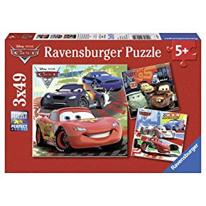 Ravensburger Disney Cars: Worldwide Racing Fun