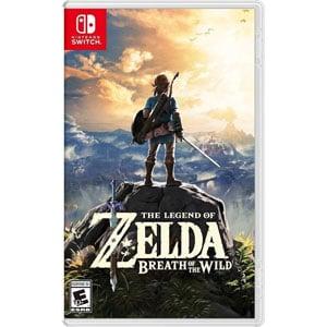 La légende de Zelda: le souffle de la nature