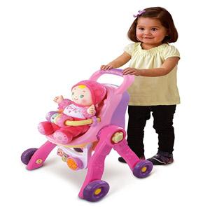 VTech Baby Amaze 3-in-1 Care & Learn Stroller