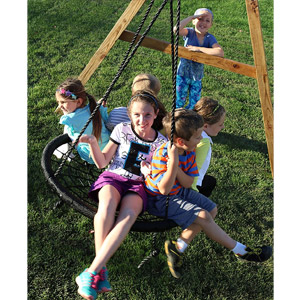 Web Riderz Outdoor Swing N Spin