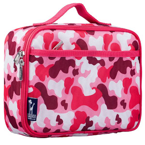 Wildkin Camo Pink Lunch Box