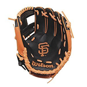 Wilson MLB Team T-Ball Youth Baseball Glove