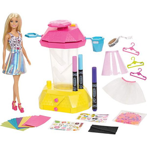 Barbie + Crayola Confetti Skirt Studio