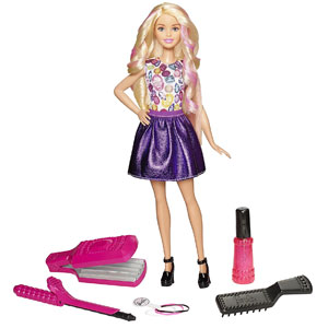 Barbie D.I.Y. Crimp & Curl Doll