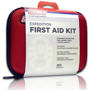 Coleman Expedition 205-Piece All Purpose First Aid Kit