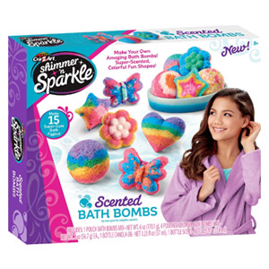 Cra-Z-Art Shimmer n Sparkle Scented Bath Bombs