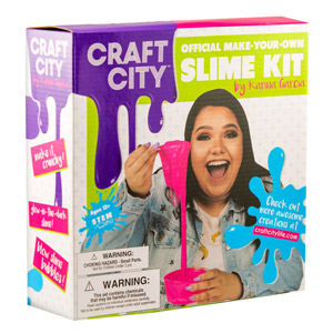 Craft City Official Make-Your-Own Slime Kit