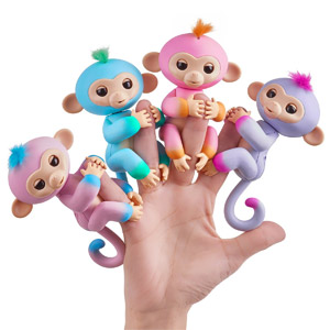 Fingerlings 2-Tone Monkey