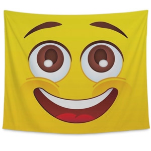 Gear New Emoji Tapestry