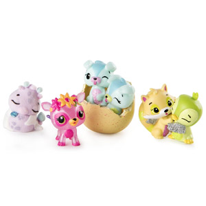 Hatchimals CollEGGtibles Season 3, 4-Pack