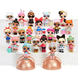 L.O.L. Surprise! Doll Series 2 3-Pack