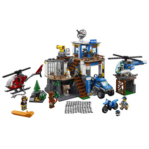 LEGO City Mountain Police Headquarters 60174