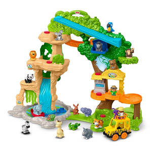 Little People Share & Care Safari Playset