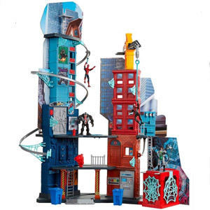 Marvel Spider-Man Mega City Playset