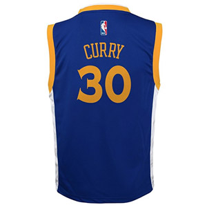 NIKE Stephen Curry Golden State Warriors Road Jersey
