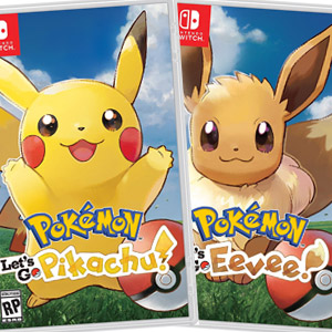 Pokémon Lets Go Pikachu / Eevee