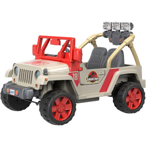 Power Wheels Jurassic World Jeep Wrangler