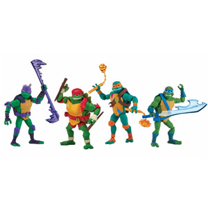 Rise of the Teenage Mutant Ninja Turtles Action Figures