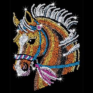 Sequin Art Horse Kit