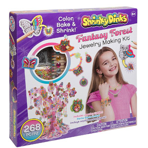 Shrinky Dinks Fantasy Forest Jewelry Kit