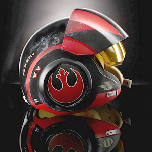 Star Wars Poe Dameron Helmet