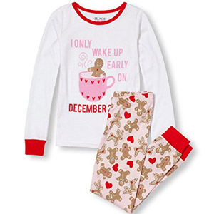 The Childrens Place Girls 2-Pc Cotton Pajamas