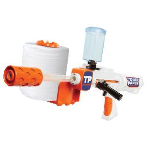 Toilet Paper Blaster Skid Shot 30