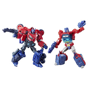 Transformers Tribute Optimus Prime Orion Pax Evolution Pack