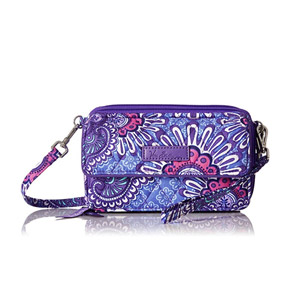 Vera Bradley All-In-One Crossbody Wallet