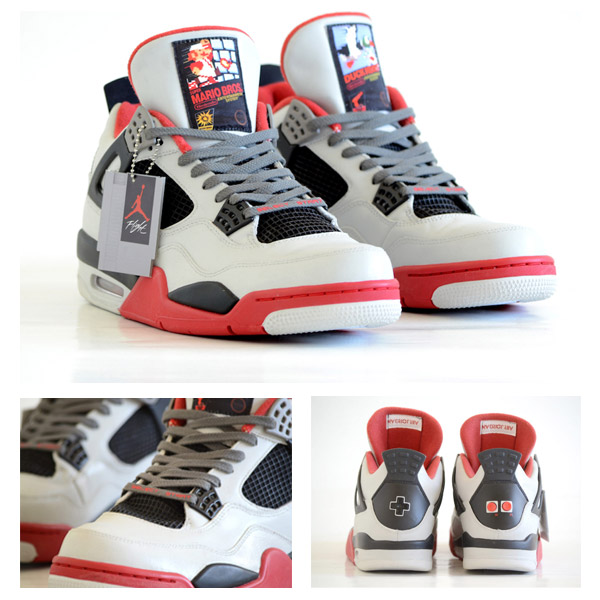28cbd30140ab New Air Jordan 4 Sneaker Design Influenced by Nintendo s NES