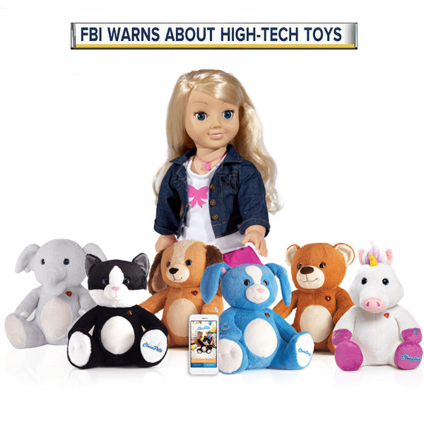 FBI Warning on Smart Connected Toys