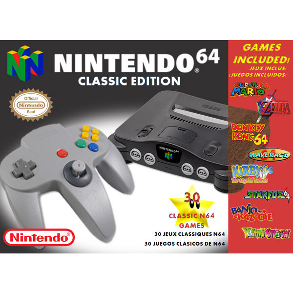 Could A Nintendo 64 Classic Edition Be In The Works