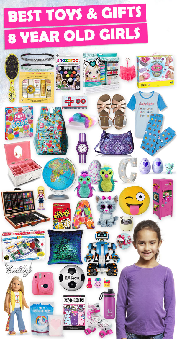 Best Toys and Gifts for 8 Year Old Girls 2017 | Toy Buzz