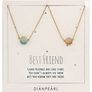 DIANPEARL Best Friend Necklace