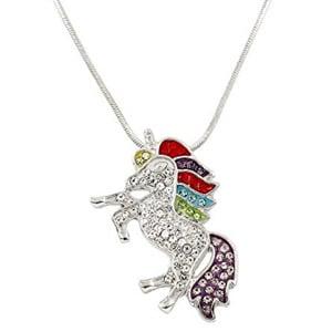 Falari Unicorn Pendant Necklace