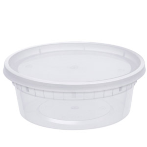 Glotoch 24 Pack Durable Storage Containers