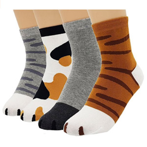 JJMax Womens Cute Kitty Cat Paws Socks