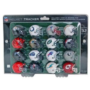 Riddell NFL Helmet Tracker Set