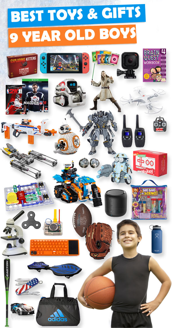 Toys For 9 Years : Best toys and gifts for year old boys toy buzz