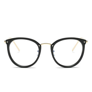 Amomoma Round Eye Glasses With Clear Frames
