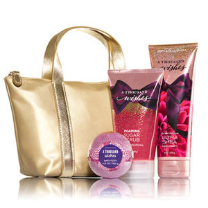 Bath & Body Works A Thousand Wishes Spa Gift Set