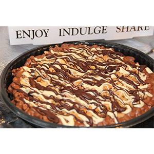 F.S. Chocolatiers Double Indulgence Chocolate Pizza